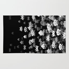Invaded BLACK Rug