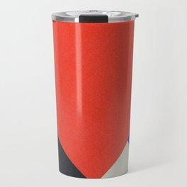 Counter Composition V (High Resolution) Travel Mug