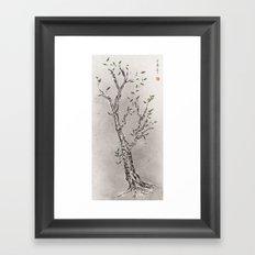 classical chinese medicine Framed Art Print