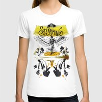 steampunk T-shirts featuring SteamPunk by Genco Demirer