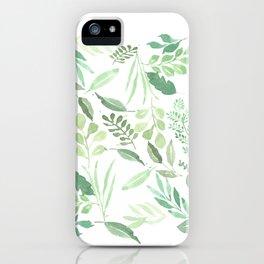Greenery iPhone Case