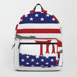 July 4 1776 America Backpack