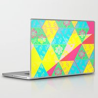 transparent Laptop & iPad Skins featuring Transparent Triangle by Lillian Cassidy