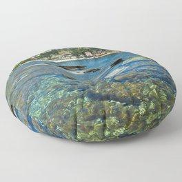 Taormina, Sicily I Floor Pillow