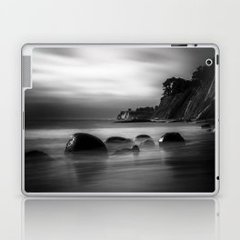 Just Another Beach Bowling Ball Beach hig tide Laptop & iPad Skin