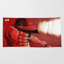 Revenge Beach Towel