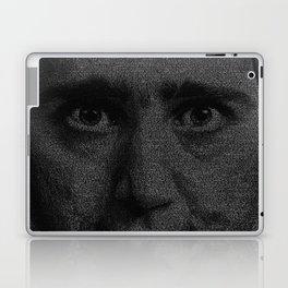Man on the Moon Screenplay Print Laptop & iPad Skin