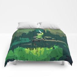 Legend Of Zelda Link Painting Art Comforters