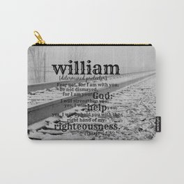 William Determined protector Carry-All Pouch