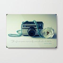 Instamatic Photography Metal Print