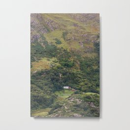 House under the mountain Metal Print