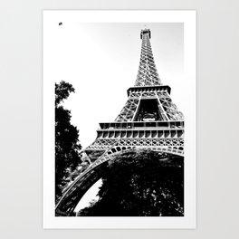 Tour Eiffel Paris  Art Print