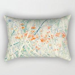 Red dreamy berrys Rectangular Pillow