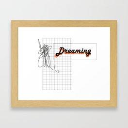 DREAMING 01 Framed Art Print