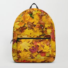Autumn leaves | Nature Photography Backpack