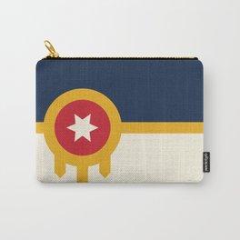 Tulsa Flag Carry-All Pouch