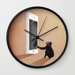 Smartphone revolution Wall Clock