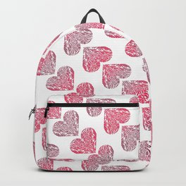 Pink Hearts 01 Backpack