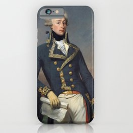 Portrait of Lafayette by Joseph désiré Court iPhone Case