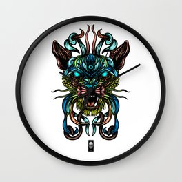 Feline Wall Clock