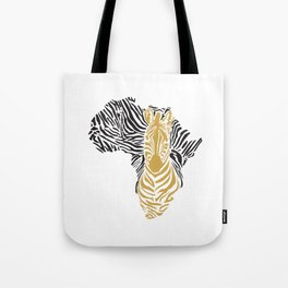 African Tribal Pattern No. 43 Tote Bag