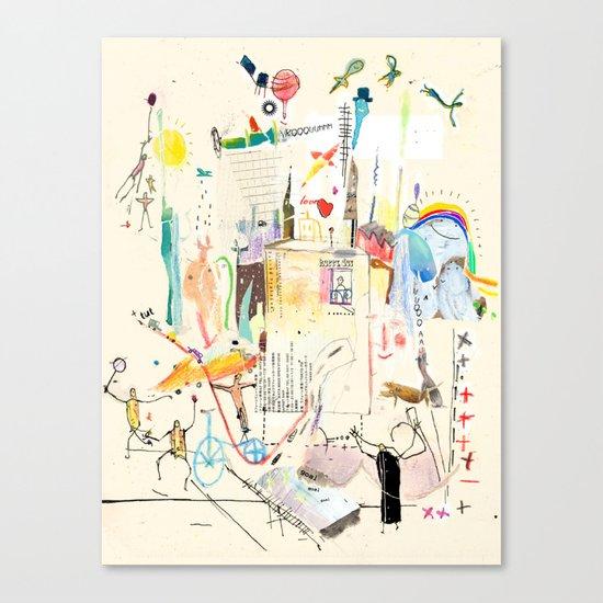 confusion Canvas Print