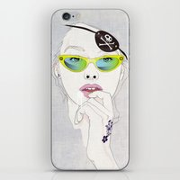 pirates iPhone & iPod Skins featuring Pirates Mania by SEVENTRAPS