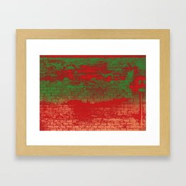 All Buffed Framed Art Print