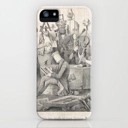 Fameux Jury de Peinture. Salon de 1841,March 20, 1841 iPhone Case