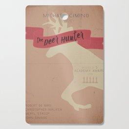 The Deer Hunter, Minimal movie poster, Michael Cimino film, alternative, Christopher Walken, De Niro Cutting Board