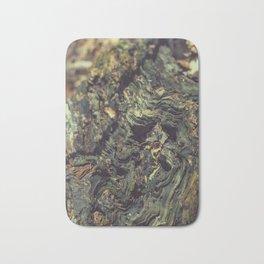 Rotten tree wood Bath Mat
