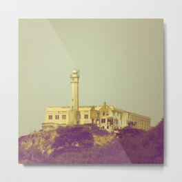 Alcatraz Prison Metal Print