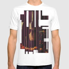 Still Life Texture Mens Fitted Tee White MEDIUM