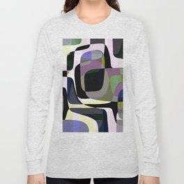 Mid Century Abstract 2 Long Sleeve T-shirt