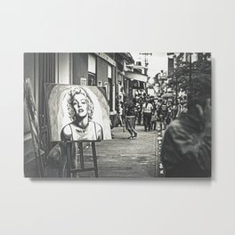 Marilyn At 6th Street Metal Print