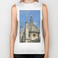 spires Biker Tanks featuring Spires of All Souls by Ann Horn