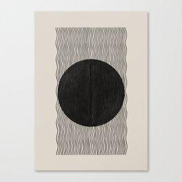 Woodblock Paper Art Canvas Print