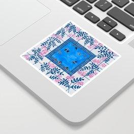 Sorrento Poolside Sticker