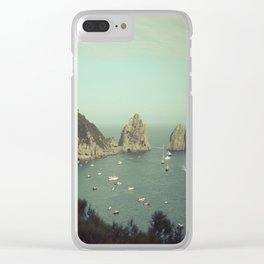 Amalfi coast, Italy 2 Clear iPhone Case