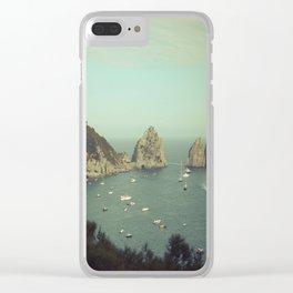 Amalfi coast, Italy 2 Clear iPhone Case