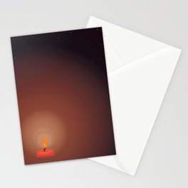 Midnight Oil - Fending Off the Darkness Stationery Cards