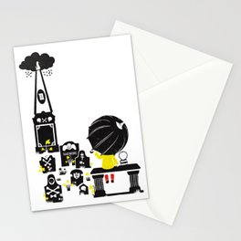 Howff ye bin? (or the meeting place) Stationery Cards