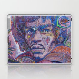 Psychedelic Haze Portrait Laptop & iPad Skin