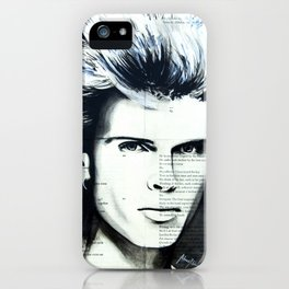 Young Idol iPhone Case