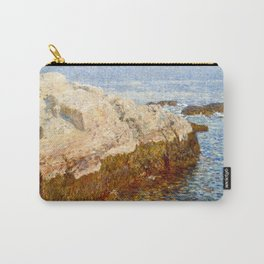 Cliff Rock, Appledore, 1903 - by Childe Hassam Carry-All Pouch