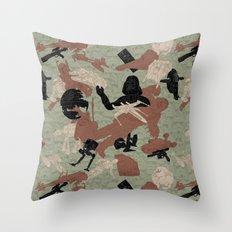 Endor Battle Camo Throw Pillow