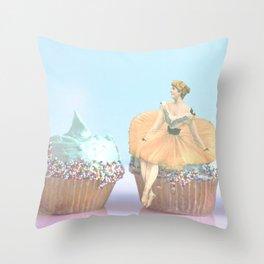 Cupcakes & Pastels Throw Pillow