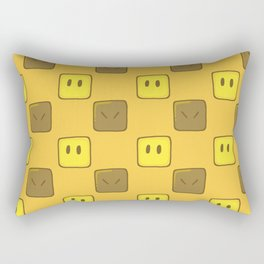 blocked! Rectangular Pillow