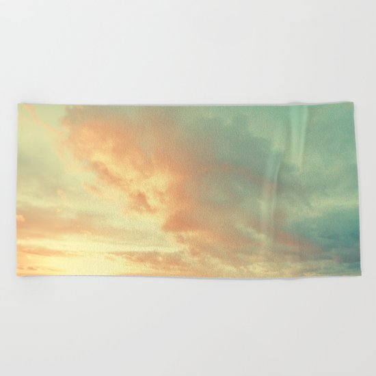 The Only way Is Up Beach Towel