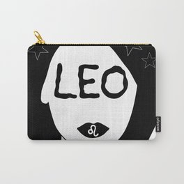 Leo Kiss Carry-All Pouch